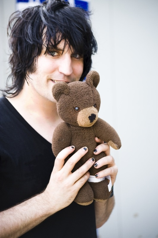 Noel Fielding has always gotten my attention. It is more attitude and wit than anything.