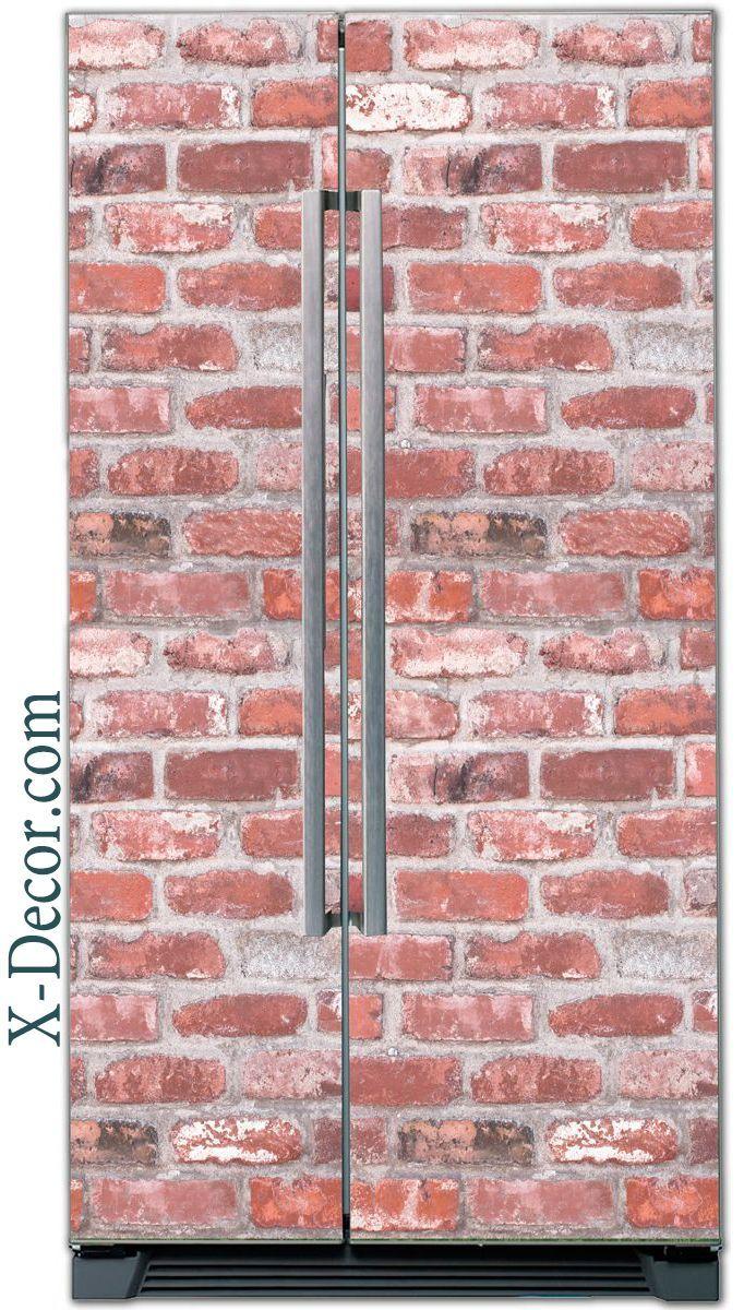 Fridge Sticker – Brick