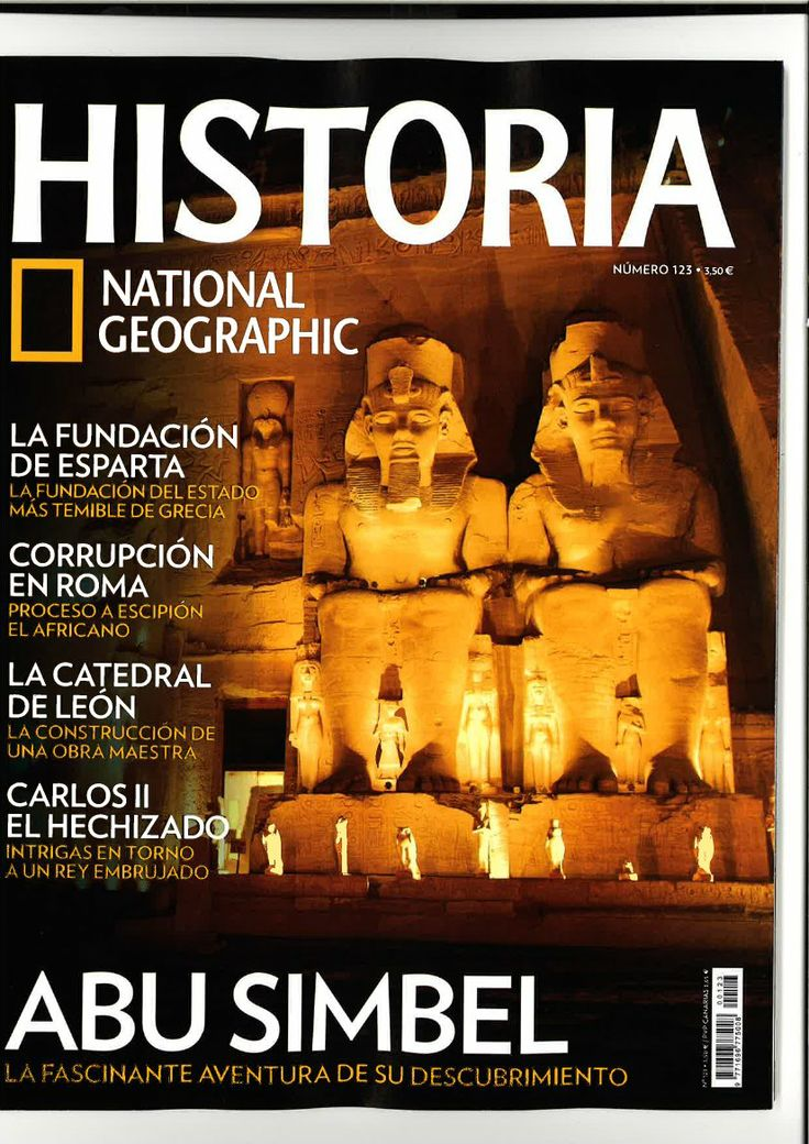 HISTORIA NATIONAL GEOGRAPHIC  25 préstamos