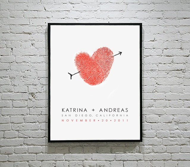 Thumbprint wedding poster by FlutterbyeNotes.: Wedding Guest Book, Wedding Posters, Guest Books, Wedding Ideas, Weddings, Unique Wedding, Guestbook, Wedding Gifts