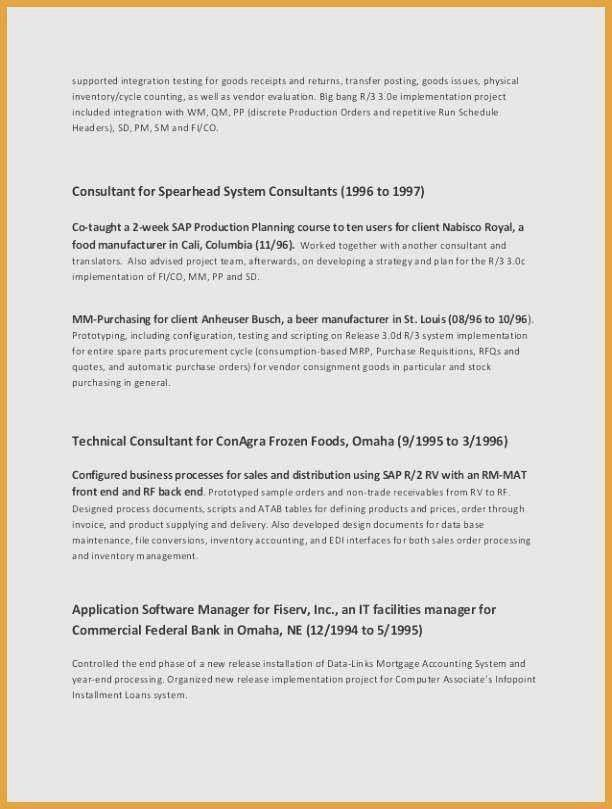 executive resume template word best of resume templates
