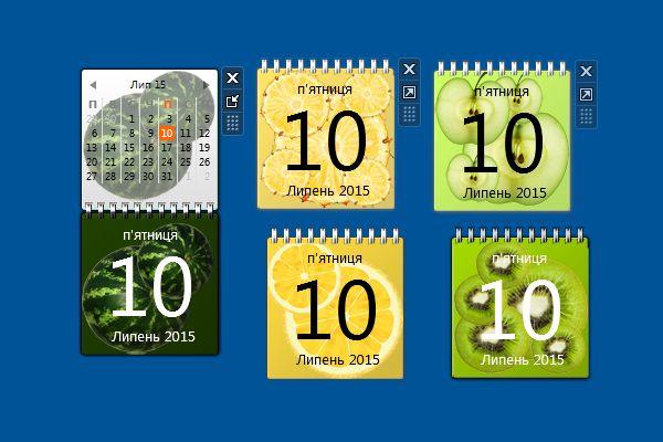 Desktop Calendar Windows 10 : Best calendar gadgets win images on pinterest