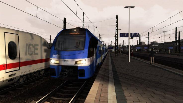 Train Simulator 2017 | Stadler Flirt3 Meridian | M 79099 von München nac...