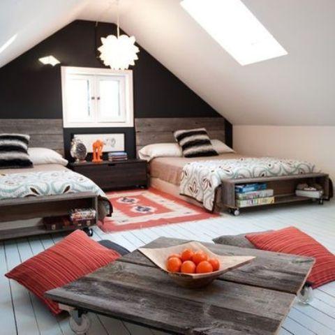 Cool Shared Teen Boy Rooms Décor Ideas