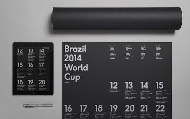 Schedule world cup 2014 by Karoshi