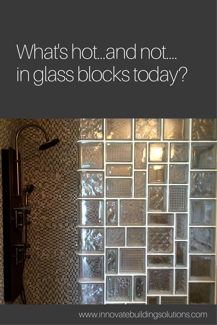 Clear glass blocks for crafts - Why Settle For A Clear Glass Shower Wall When You Can Have A Leaded Glass Inspired