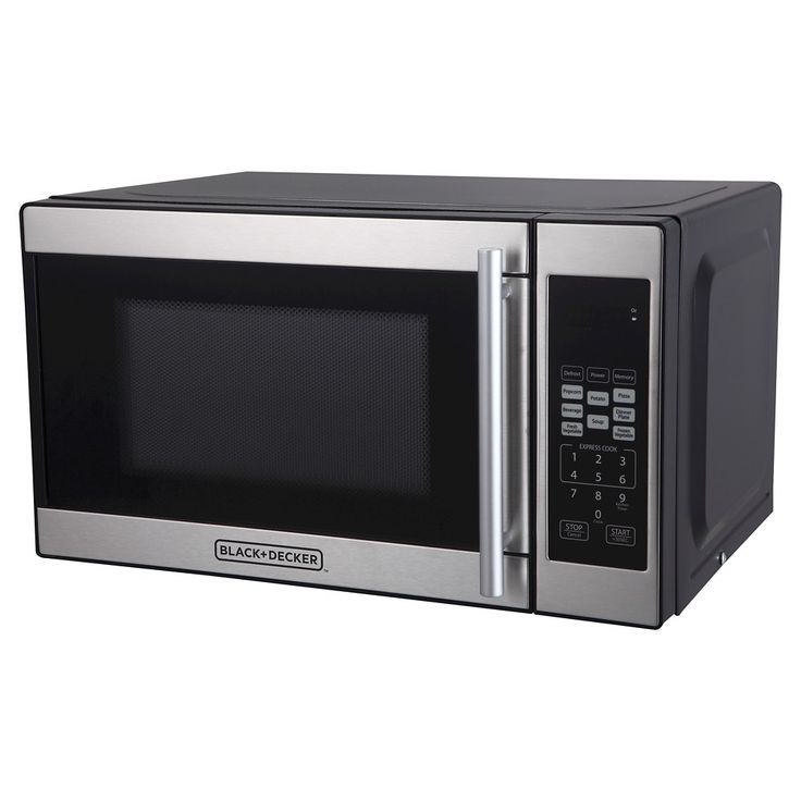 Black + Decker 0.7 Cu. Ft. 700 Watt Microwave Oven - Black EM720CPN-P