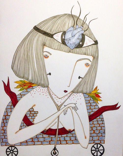 Lost thing - illustration