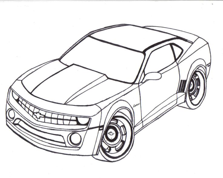 Chevy Cars Camaro 69 Coloring Pages Chevy Coloring Pages