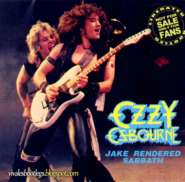 Viva Les Bootlegs: Ozzy Osbourne: Jake Rendered Sabbath ...