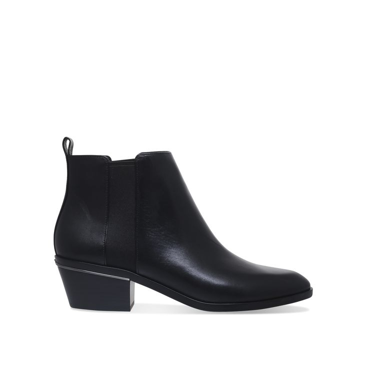 CROSBY BOOTIE Michael Michael Kors Crosby Bootie Black Leather Ankle Boots by MICHAEL MICHAEL KORS
