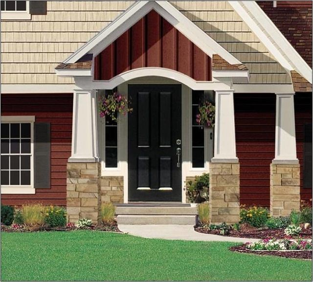 17 Best Images About Remodel Siding And Gable Ideas On