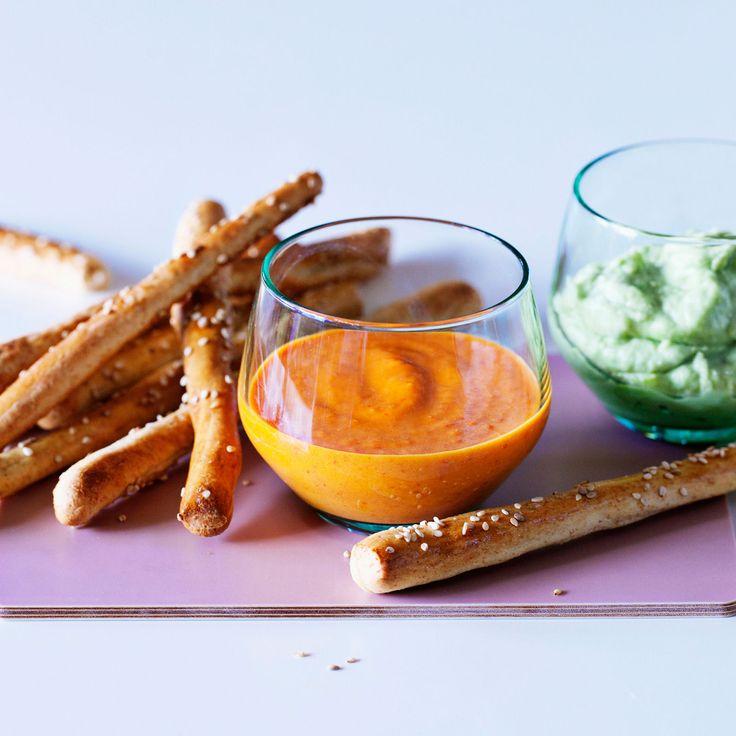 Découvrez la recette Guacamole de poivron sur cuisineactuelle.fr.