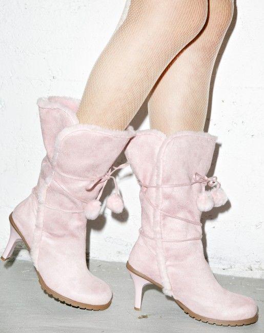 Gettin Cozy Polar Boots | Dolls Kill