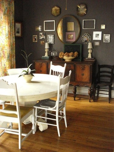 1000 Ideas About Dark Dining Rooms On Pinterest