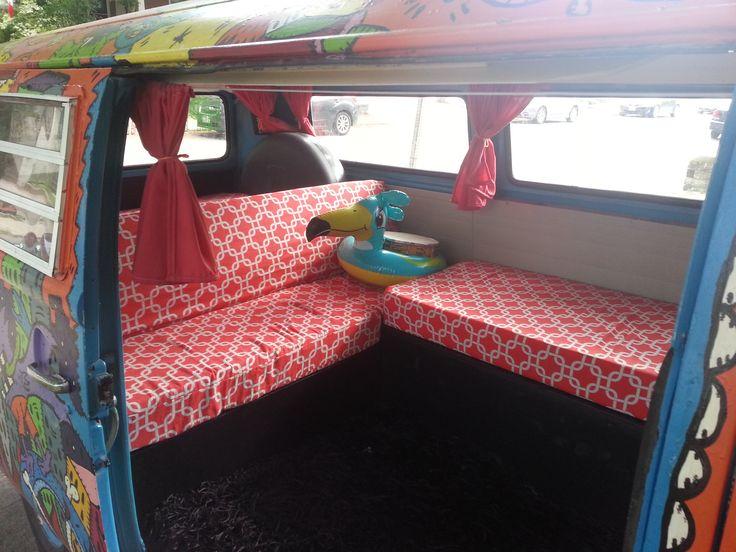 volkswagen van hippie interior. hippie van custom interior volkswagen combi transporter v