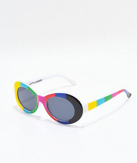 aa1b081e8e77 Petals   Peacocks Nevermind TV Sunglasses