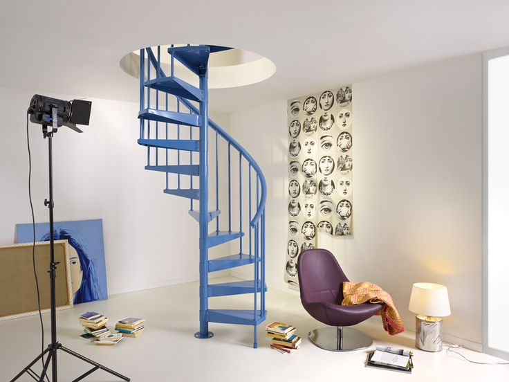 spiral staircase clip | Fontanot