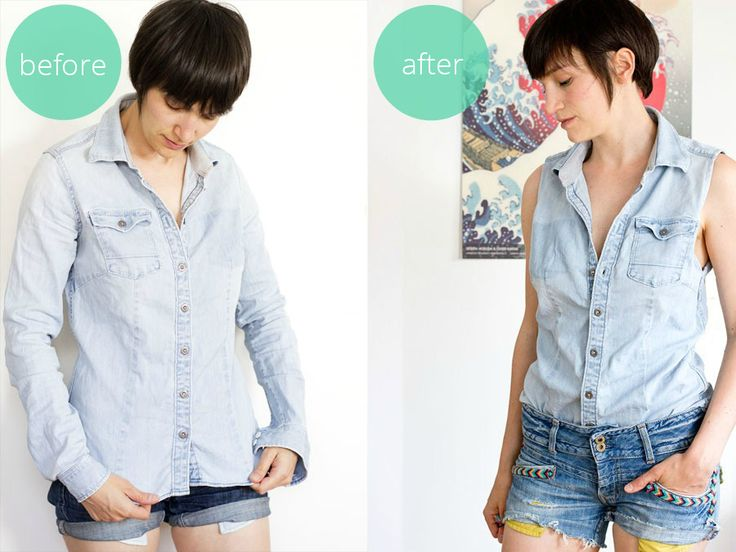 Refashion an old blouse to a summer shirt  LOOK WHAT I MADE ...