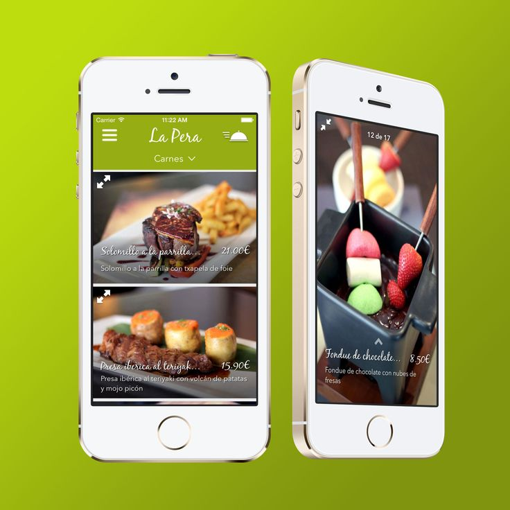 Mobile App designed and developed by 2Coders Studio for Tadium Invest, for managing restaurants with the iphone