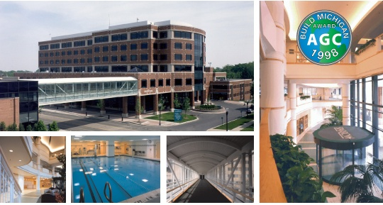 Sparrow Health Systems,   Professional Office Building & Parking Deck Lansing, MI #grangerconstruction