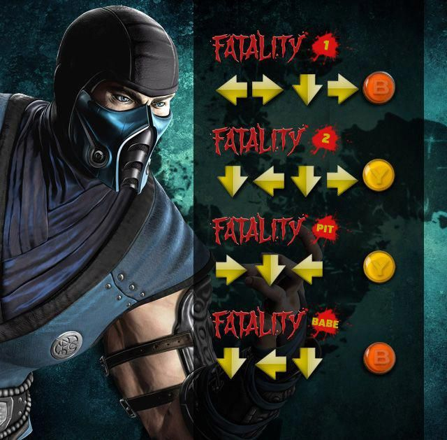 Akatsuki Ninja Animes E Games Mortal Kombat Todos Fatalities