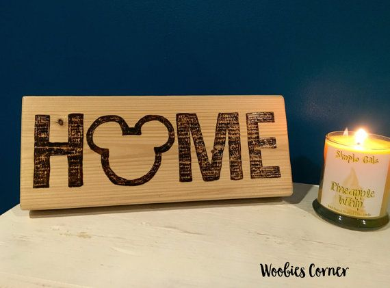 As autumn approaches, I start thinking of cozier and more seasonal ways to bring a little Disney to my home. This Mickey HOME Wooden Sign has the perfect touch of rustic glamour to welcome autumn to this Disney house. This Disney H°O°ME sign is made using real, quality wood. Each piece is hand decorated combining pyrography (wood burning) …