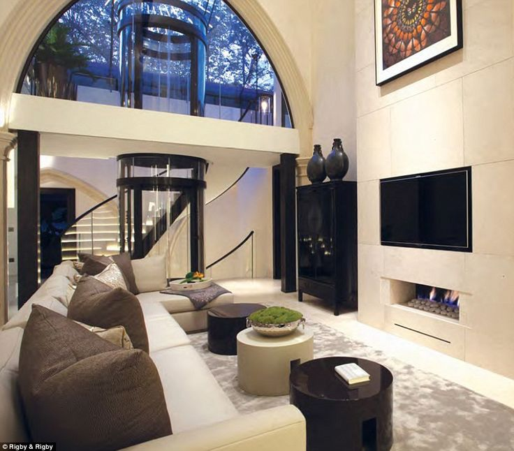 Now Thatu0027s What You Call A Conversion! Former Church Transformed Into £50m  Home With Gym And Pool Is A Temple To Modern Design