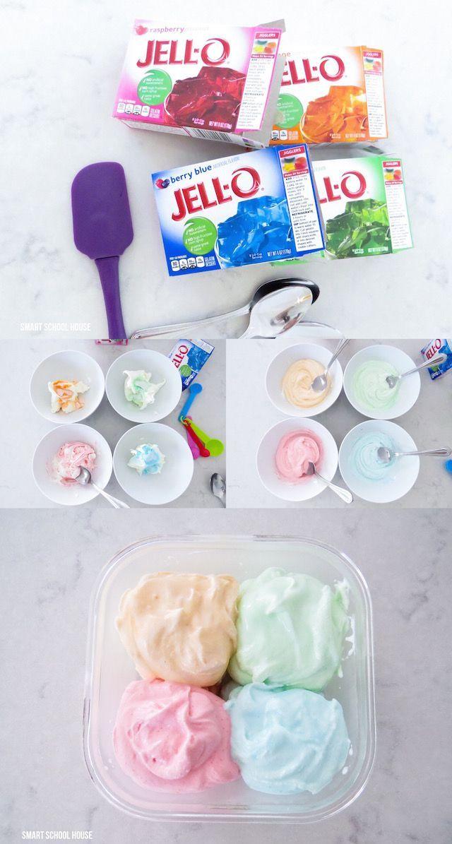 How to make JELLO ICE CREAM. No way..... yes way! No ice cream maker? No problem! Must TRY!