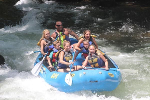 Nantahala River rafting is North Carolina's best white water playground! Only Wildwater offers daily trips with discounts on zip & raft or kid zip packages!