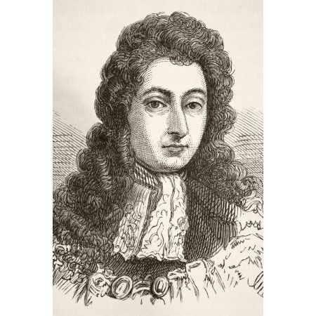 King William Iii Of England 1650 To 1702 Prince Of Orange Stadtholder Of Main Dutch Republic Provinces From The National And Domestic History Of England By William Aubrey Published London Circa 1890 C