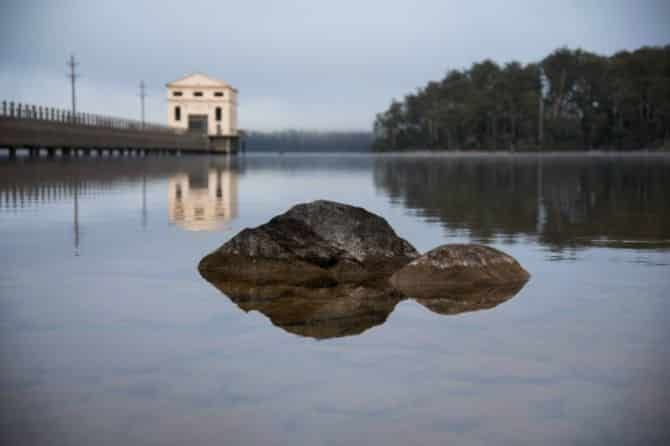 Pumphouse Point on Lake St Clair is one of Tasmania's newest luxury boutique hotels. The old pumphouse has been converted into a contemporary hotel.