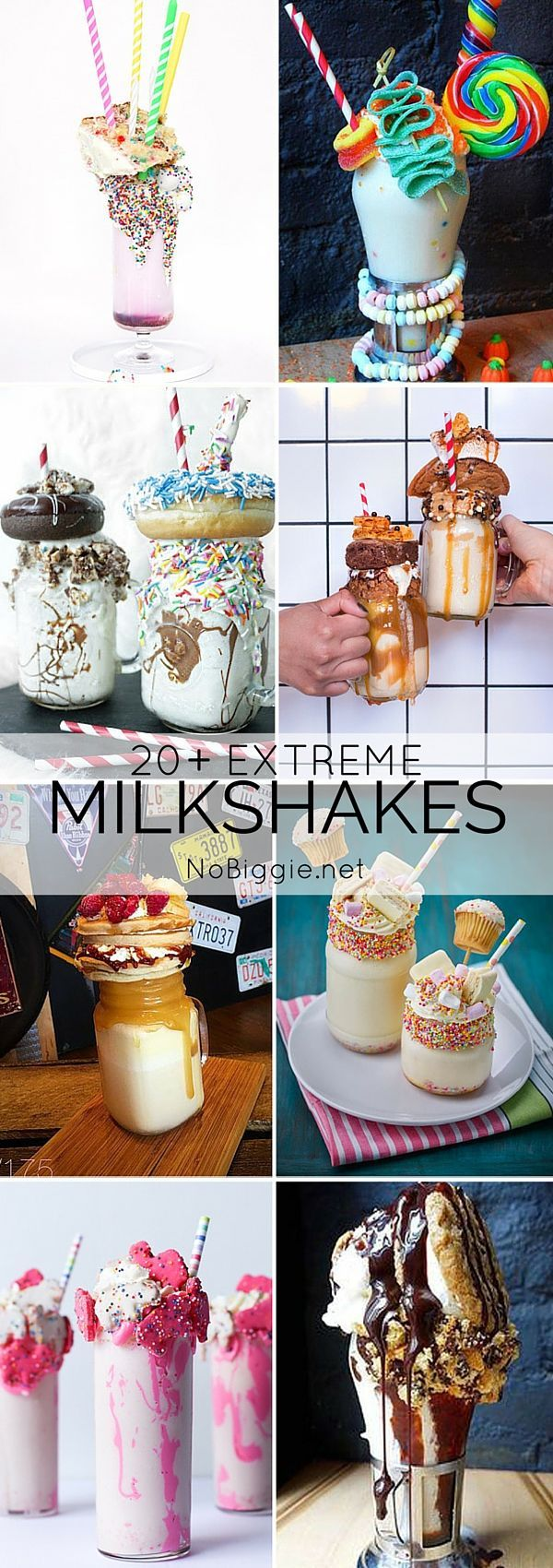 Extreme Milkshakes. Freakshakes. Monster Shakes. Whatever you want to call them, I'm sure we can all agree they're totally over the top and you'd love to try one. It's a trend that started in Australi !
