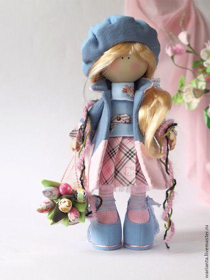 Купить Марта. Кукла текстильная. Большеногая девочка. - куклы, куклы купить, dolls, игрушки ♡