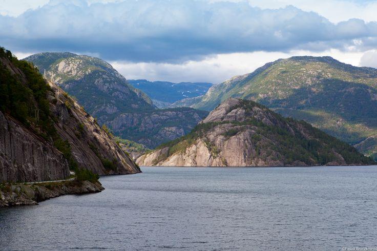 Norwegia - Narodowy Szlak Turystyczny Ryfylke.