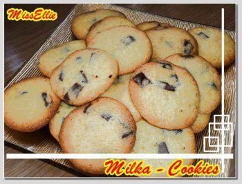 ~ Kleingebäck süß ~ Milka - Cookies - Rezept