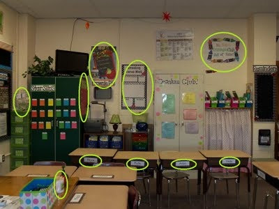 All the ways to use Vista Print... interesting idea.  I'm also now obsessed with this teacher's blog.