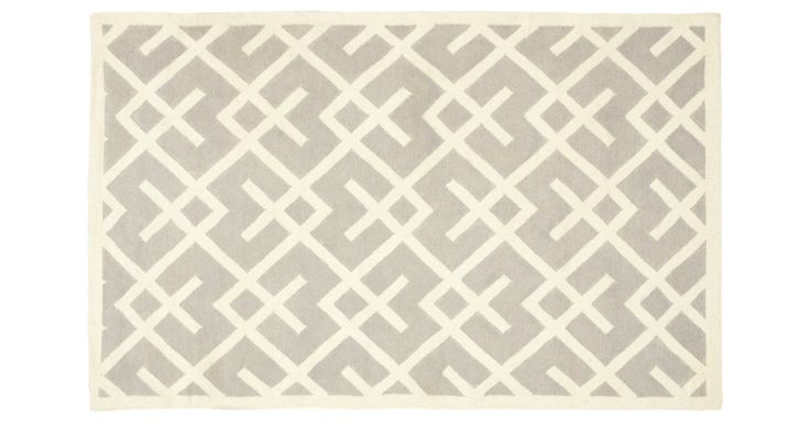 Following the traditions of local artisans, this rug was made with pure wool to recreate the original texture and soft colorations of antique dhurries. The results are natural and organic, with...