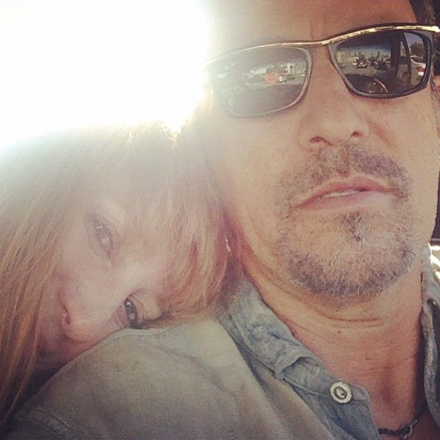 Patti scialfa officialrumbledoll driving l a instagram for Who has bruce springsteen been married to