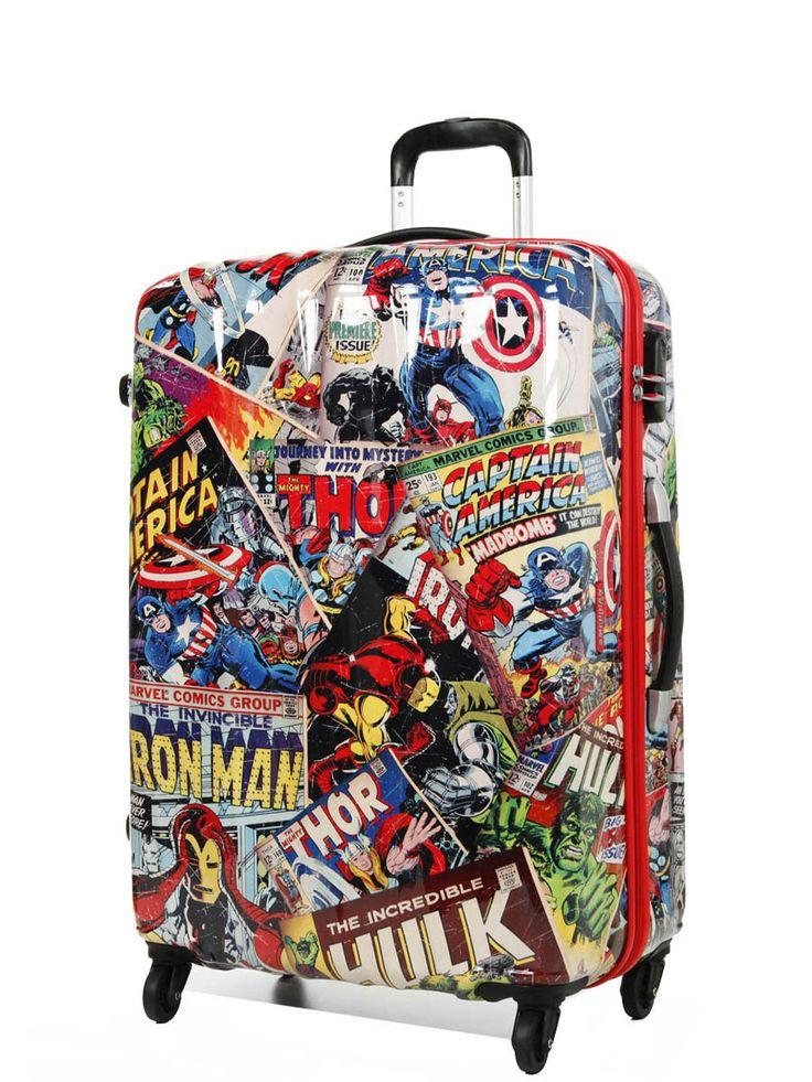 Valise Marvel Comics by American Tourister 75 cm Marvel Comics - 64493-4528 - 21C*10008, 21C-10008, 21C10008