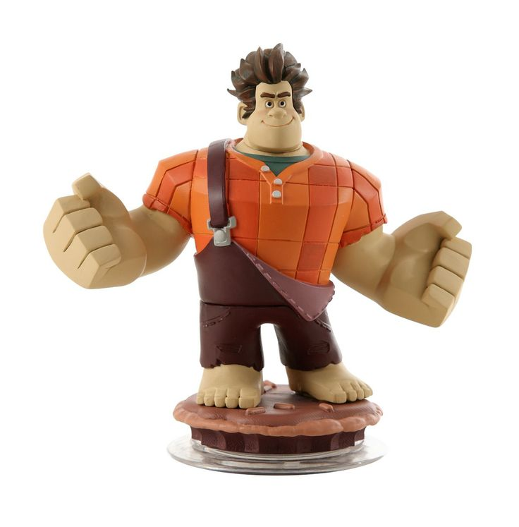 Wreck-It Ralph Disney Infinity 1.0 Figure - Bash, crash and smash with Wreck-It Ralph. Help the powerhouse bring down the house, or anything else in his way, with his huge fists and high-powered cherry bomb.