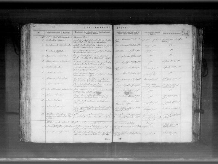 Oldemor Karen Marie Andersen - Konfirmation  Danmarks kirkebøger, 1813-1919 - MyHeritage