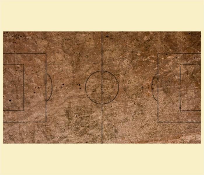 """Kickertisch Zubehör / Kicker Zubehör / Tischfußball Zubehör - Spielfeldfolie Motiv """"Grandplatz"""""""