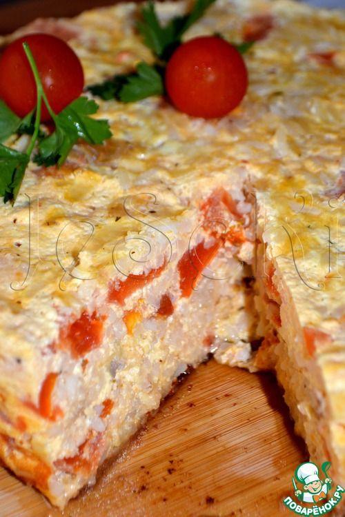 Рыбная запеканка с рисом в мультиварке - кулинарный рецепт