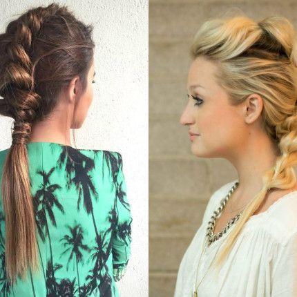Trecce all\'ultima moda? Le dragon braids!