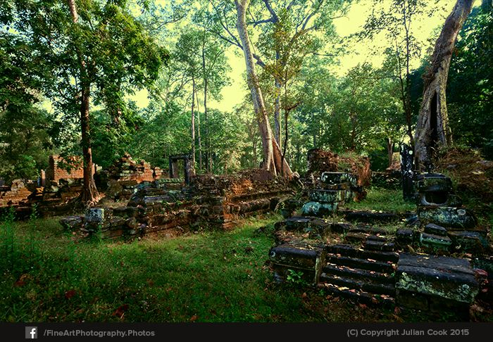 Around Baphuon ruins early one morning. Walking through the grounds and seeing the outer buildings, often missed by the majority of tourists to Siem Ream/ Ankor Wat.