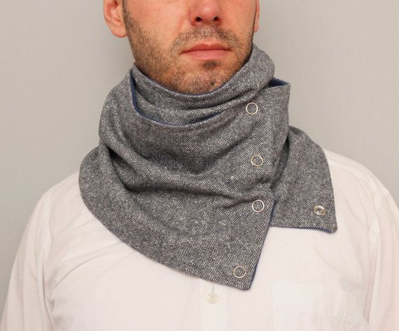 UNISEX circular infinity unisex scarf ,men  NECKWARMER scarf  ,men scarf, scarf  with snaps