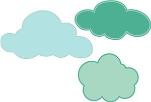 Silhouette Design Store: echo park clouds