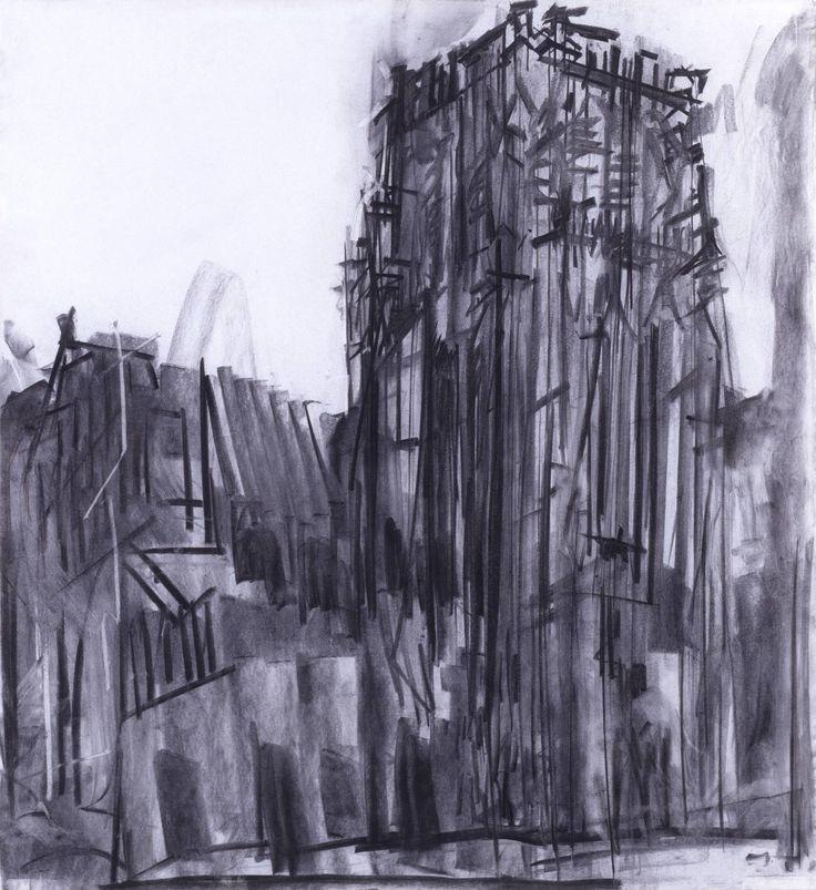 Dennis Creffield  Durham: The Central Tower 1987