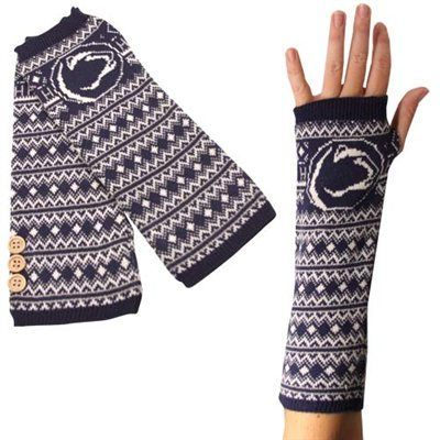 Penn State Nittany Lions Knit Arm Warmers - Navy Blue